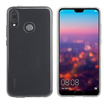 Colorfone myk eksklusiv TPU-skall Huawei P20 lite gjennomsiktig