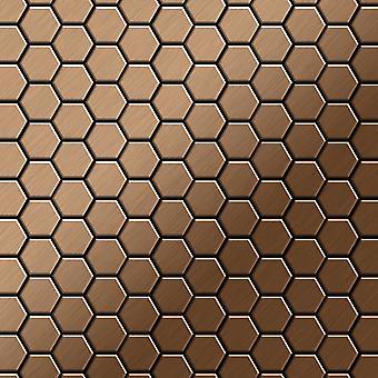 Metallmosaik Titan ALLOY Honey-Ti-AB