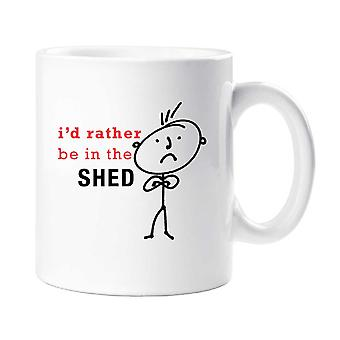 Mens I'd Rather Be In the Shed Mug