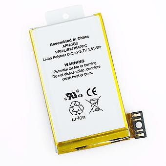 5-pack batterier for Apple iPhone 3GS 8GB 16GB 32GB 616-0431 616-0434 616-0433 A1303 A1325