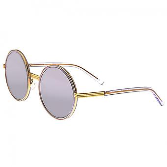 Bertha Riley polarizada óculos de sol - ouro de rosa/roxo
