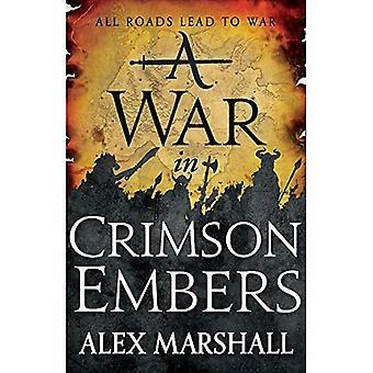 Een oorlog in Crimson Embers (Crimson Empire)