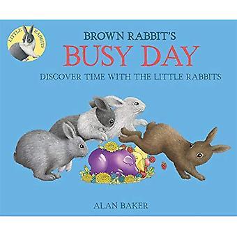 Bruin konijn de drukke dag (kleine konijn Books)