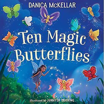 Dez magia borboletas [livro de placa]