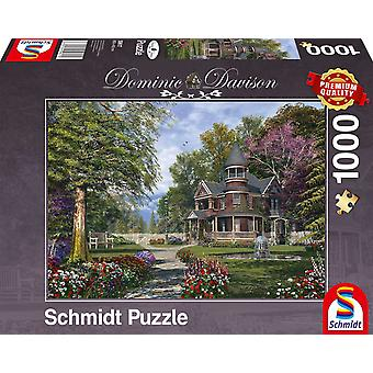 Schmidt Dominic Davison Manor House Jigsaw Puzzle (1000 pieces)