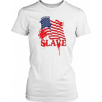 Amerika - Startseite des Slave - Verschwörung Damen T Shirt