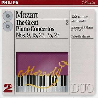 Brendel/Marriner/ASMF-Mozart: grands concertos pour piano, vol. 2 [CD] Import USA