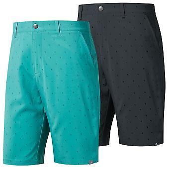 Adidas Golf mens Ultimate365 Pine Cone Critter print shorts