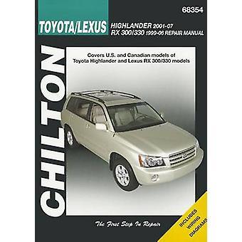 Toyota Highlander & Lexus RX-330 Automotive Repair Manual (Chilton) -
