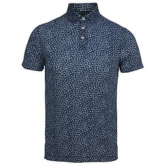 Hackett Floral Print Short Sleeve Shirt