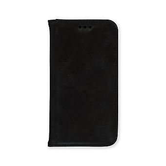 Trophy Distressed Leather Magnet Wallet Black iPhone X/XS