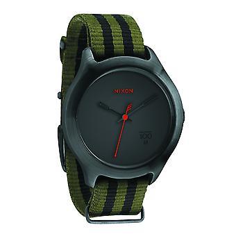 Nixon le Quad excédent/Black Nylon Uhr (A344151)