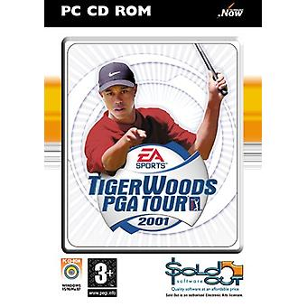 Tiger Woods PGA Tour 2001 (PC CD)-ny