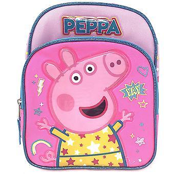 Mini Backpack - Peppa Pig - YAY Rainbow Pink 10