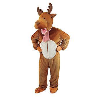 布里斯托尔新奇的中性成人驯鹿服装