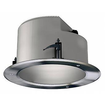 2 lichte dubbele ronde buiten verzonken plafond licht roestvrijstaal AISI 304 Ip66