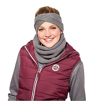 Eskadron Fanatics Knitted Loop Neckwarmer - Anthracite Melange