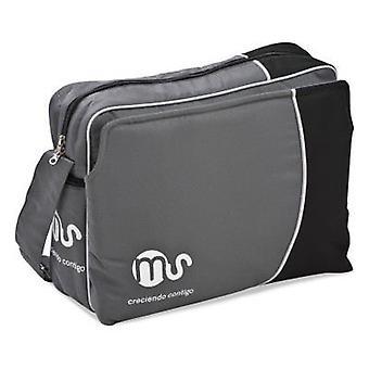 MS Handbag Grey With Black (Babies and Children , Walk)