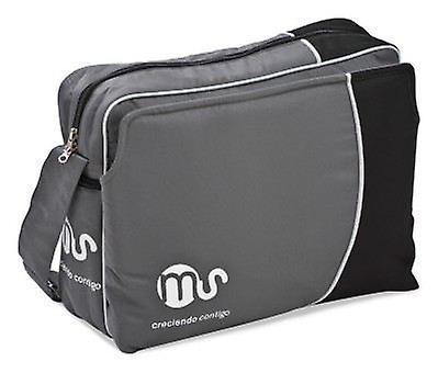 MS väska grå med svart (spädbarn och barn, promenad)