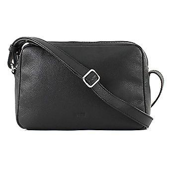 Bree Cary 10 Black Cross Shoulder M - Donna Schwarz Shoulder Bags (Black) 8x15.5x23 cm (B x H T)