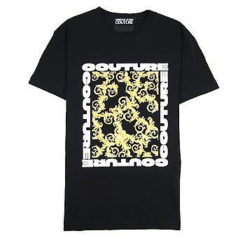 Versace Jeans Couture Logo T-Shirt Noir 899