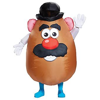 Mr Potato huvud uppblåsbara vuxen kostym