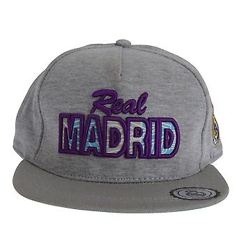 Real Madrid CF oficial adultos texto clásico Unisex gorra de béisbol