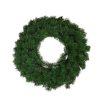 Средний искусственная сосна венок для рождественских ремесел - 30cm широком
