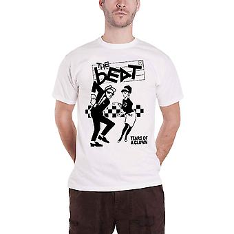 The Beat T Shirt Tears Of A Clown new Official Mens White