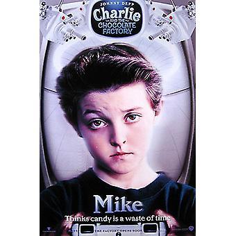 Charlie och chokladfabriken (Mike) original Cinema affisch