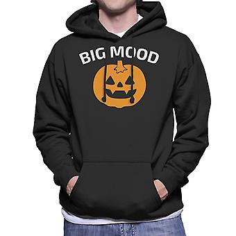 Big Mood Halloween Men's Hooded Sweatshirt