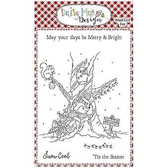 Daisy Mae Design A6 Stamp Set Woodland Fox Christmas | Set of 5