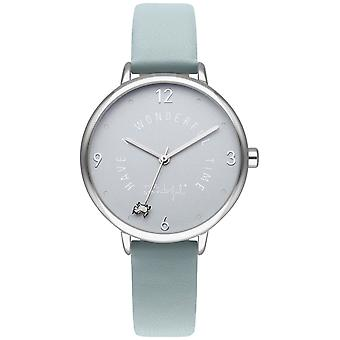 Mr wonderful dream forever Quartz Analog Woman Watch with Synthetic Leather Bracelet WR50200
