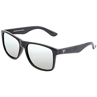 Sixty One Solaro Polarized Sunglasses - Black/Silver
