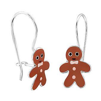 Gingerbread - 925 Sterling Silver Earrings - W28666X