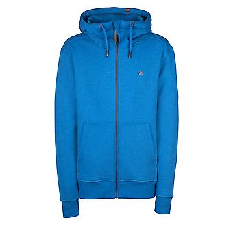 Alife and Kickin Sporty Men's Sweatjacket Trasher with Hood Color cobalt Size L - 4XL