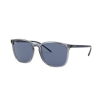 Ray-Ban RB4387 639980 Transparent Blue/Blue Sunglasses