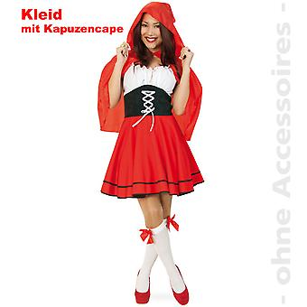 Little Red Riding Hood sprookje jurk dames kostuum hooded Cape fairytale dames kostuum