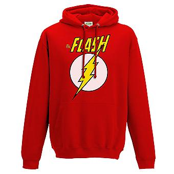 Flash Unisex Adults Logo And Symbol Hoodie