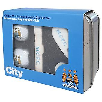Manchester City Players Golf Gift Set