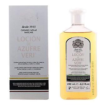 Loção anti-perda de cabelo Azufre Veri Azufre Veri