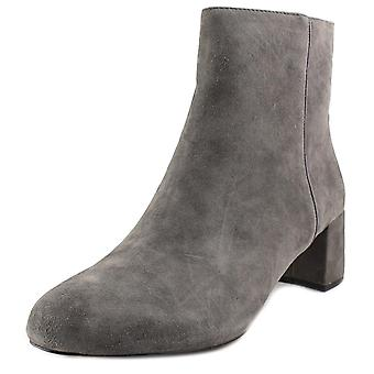 Adrienne Vittadini Womens Louisa Leather Almond Toe Ankle Fashion Boots