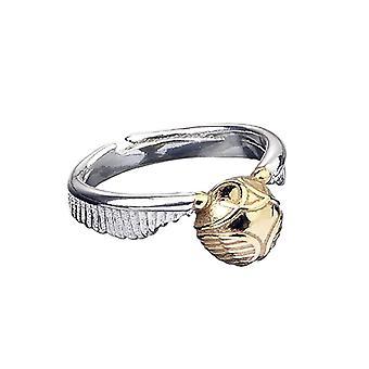 Harry Potter Edelstahl Golden Snitch Ring