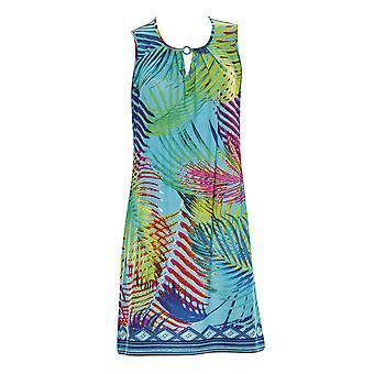 Sunflair 23336-99 Women's Tropical Dream Multicolour Floral Beach Dress