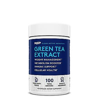 Rsp green tea, weight management, metabolism booster, immune support, 100 servings