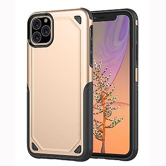 For iPhone 11 Pro Case, Armour Slim Cover with Additional Camera Protection,Gold