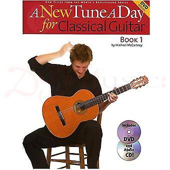 A New Tune A Day Clas Guitar Book CD&DVD
