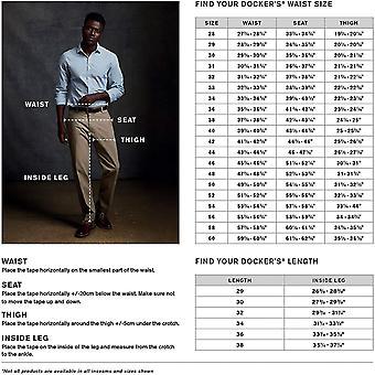 Dockers Men-apos;s Classic Fit Easy Khaki Pantalon -, Noir (Stretch), Taille 42W x 30L