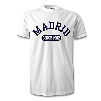 Real Madrid 1902 etablert fotball t-skjorte