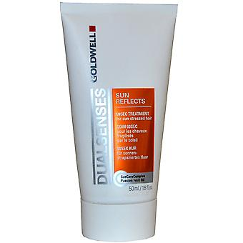 Dual Senses Goldwell 60 Druhá liečba Sun Refelects 50ml pre slnko zdôraznil vlasy